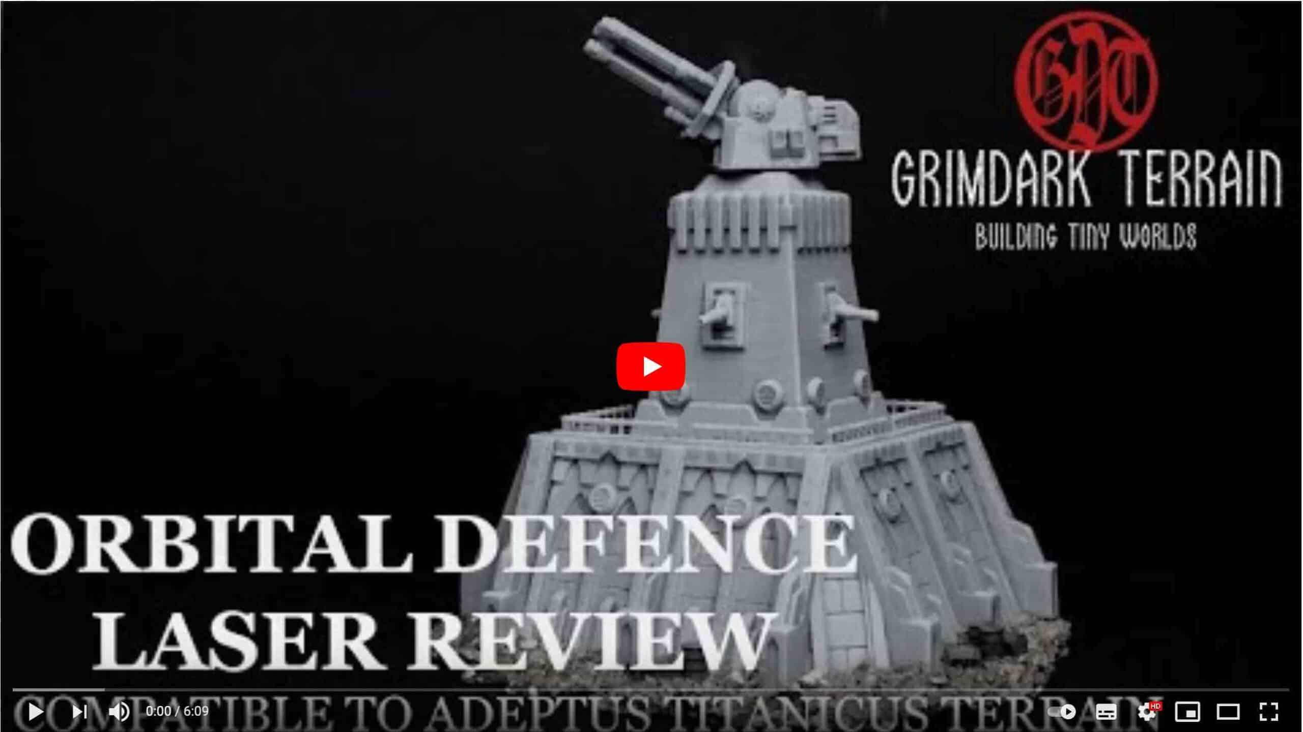 GrimDark Terrain Review by Mr. Dizzy Finger