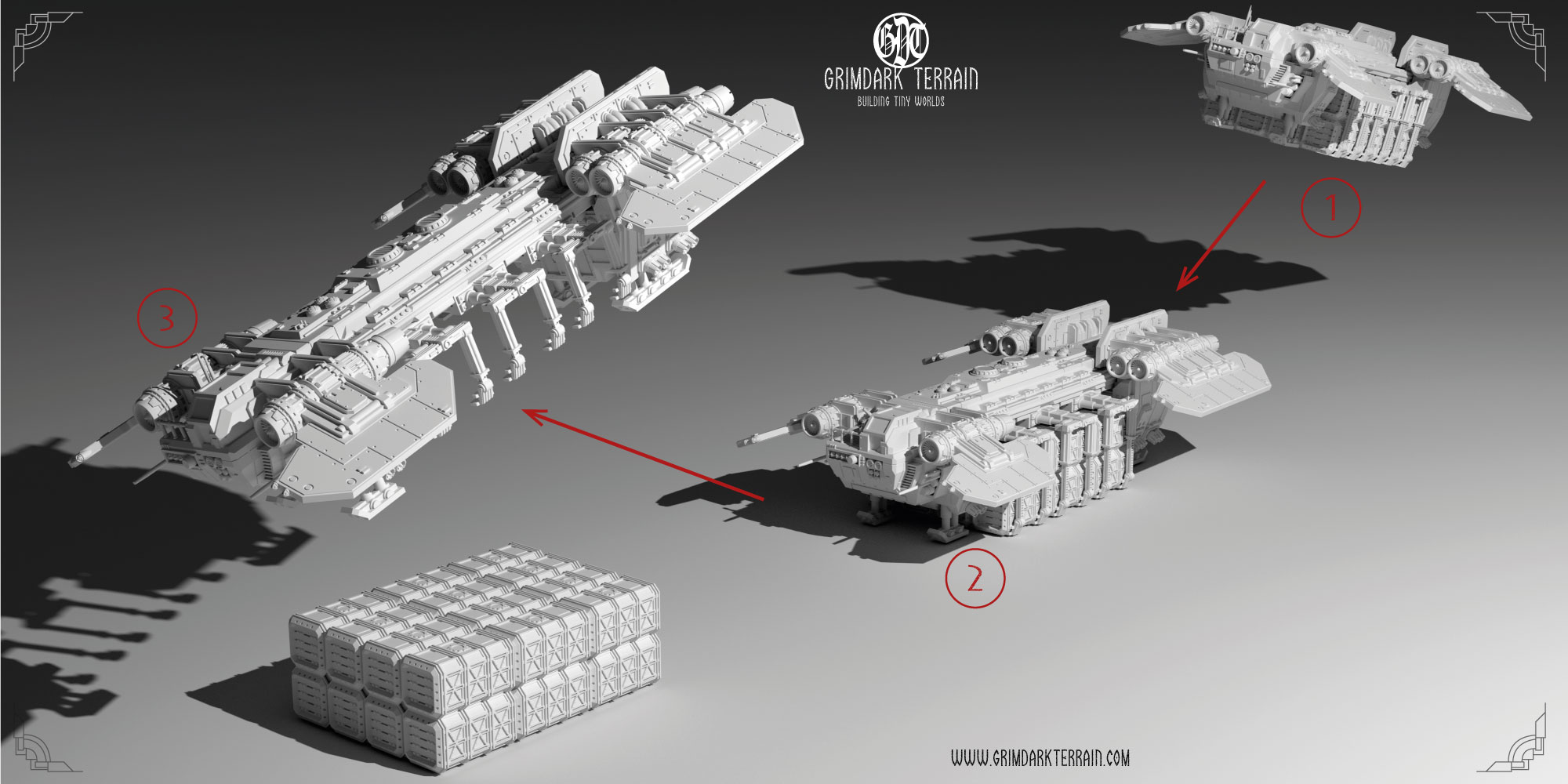 Template Construct: The Samson Freighter